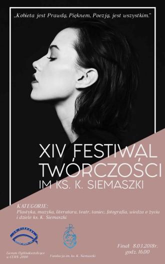 XIV Festiwal Twórczości im. ks. Kazimierza Siemaszki