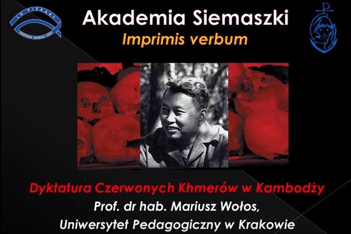 Wykład prof. dr hab. Mariusza Wołosa